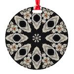Forbidden Love Art Mandala Round Ornament