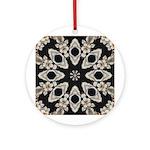 Forbidden Love Art Mandala Ornament (Round)