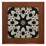 Forbidden Love Art Mandala Framed Tile