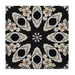 Forbidden Love Art Mandala Tile Coaster