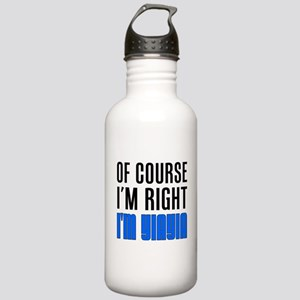 I'm Right YiaYia Drinkware Water Bottle