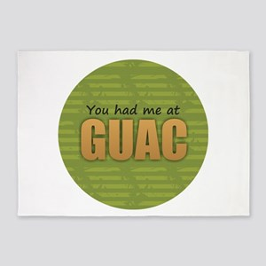 You Had Me at Guac 5'x7'Area Rug