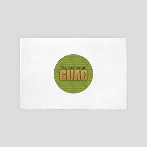 You Had Me at Guac 4' x 6' Rug