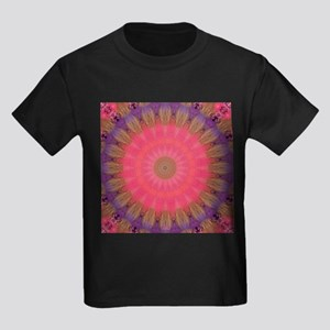 Divine Art Mandala Kids Dark T-Shirt