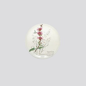 Hummingbird sage Mini Button