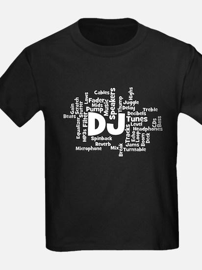 DJ Word Cloud T-Shirt