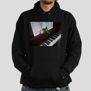 Piano' Music and a Rose Hoodie