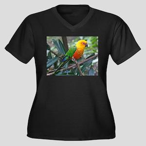 Parakeet Plus Size T-Shirt