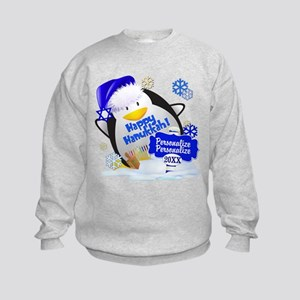 Happy Hanukkah Kids Sweatshirt