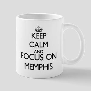 Keep Calm and Focus on Memphis Mugs