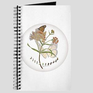 Monarch Butterfly With Narrowleaf Milkweed Journal