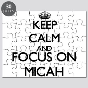 Keep Calm and Focus on Micah Puzzle