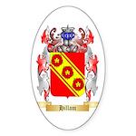 Hillam Sticker (Oval)