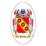 Hillam Sticker (Oval 50 pk)