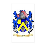 Hill Sticker (Rectangle 50 pk)