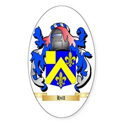 Hill Sticker (Oval 10 pk)