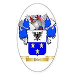 Hiler Sticker (Oval 10 pk)