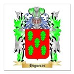Higueras Square Car Magnet 3