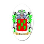 Higueras 35x21 Oval Wall Decal