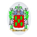 Higueras Ornament (Oval)