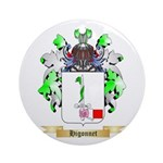 Higonnet Ornament (Round)