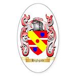 Highgate Sticker (Oval 50 pk)