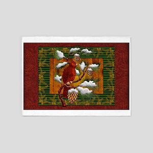 Harvest Moons Cardinal 5'x7'Area Rug