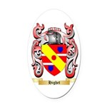 Highet Oval Car Magnet