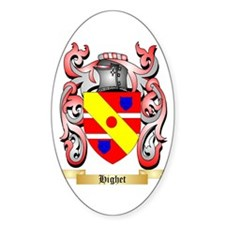 Highet Sticker (Oval)