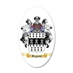 Higgons 20x12 Oval Wall Decal