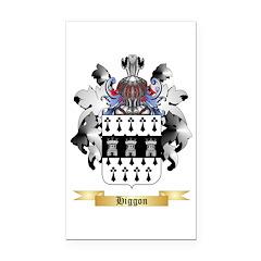 Higgon Rectangle Car Magnet
