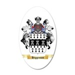 Higginson 20x12 Oval Wall Decal