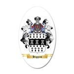 Higgins 20x12 Oval Wall Decal