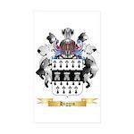 Higgin Sticker (Rectangle 50 pk)