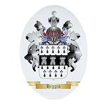 Higgin Ornament (Oval)