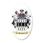 Higgens 35x21 Oval Wall Decal