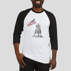 Mounted Patriot Baseball Jersey