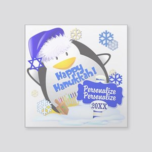 Happy Hanukkah Custom Sticker