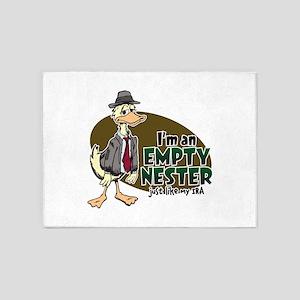 Empty Nest 5'x7'Area Rug