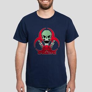 Zombie Apocalypse grn Dark T-Shirt