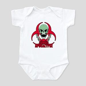 Zombie Apocalypse grn Infant Bodysuit
