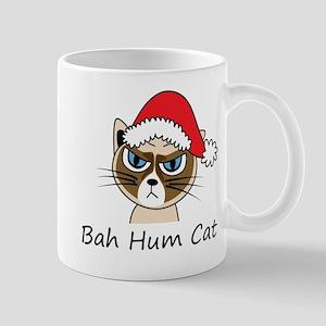 Bah Hum Cat Mug