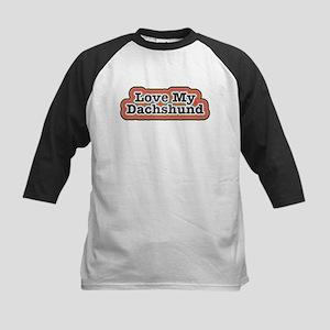 Love My Dachshund Baseball Jersey