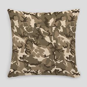 Tan Camouflage Pattern Master Pillow