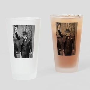 winston churchill Drinking Glass