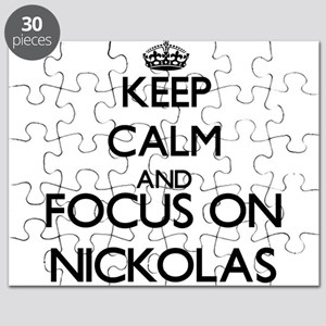Keep Calm and Focus on Nickolas Puzzle