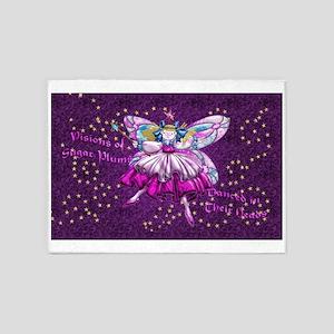 Harvest Moons Sugar Plum Fairy 5'x7'Area Rug
