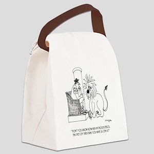 Diet Cartoon 3028 Canvas Lunch Bag