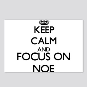 Keep Calm and Focus on No Postcards (Package of 8)