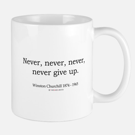 Winston Churchill 7 Stainless Steel Travel Mugs